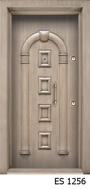 B3) DOXA SERIE SECURITY DOORS: * Kale Mortise Lock System. Lock System 6  Thick Bolts With 3 Turns * Steel Shield For Cylinder * Door Frame And Leaf  Are Made ...